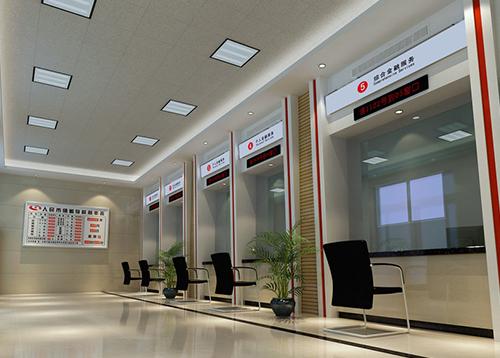 防弹玻璃应用于银行