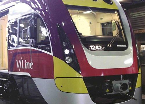 澳洲机车前窗