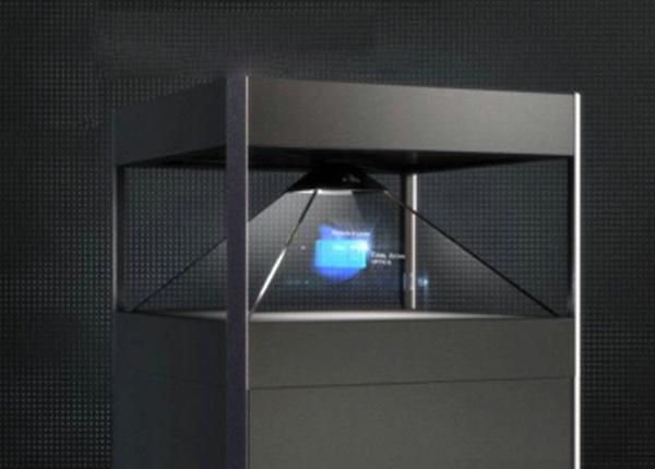 3D全息展柜